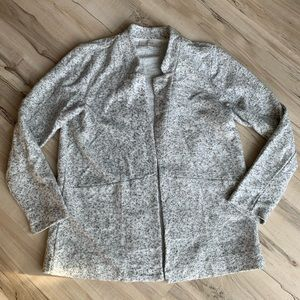LOFT Cardigan Jacket Gray Size Medium